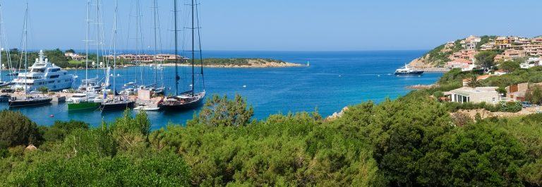 Porto Cervo village in Emerald coast, north of Sardinia, Italy shutterstock_287918015