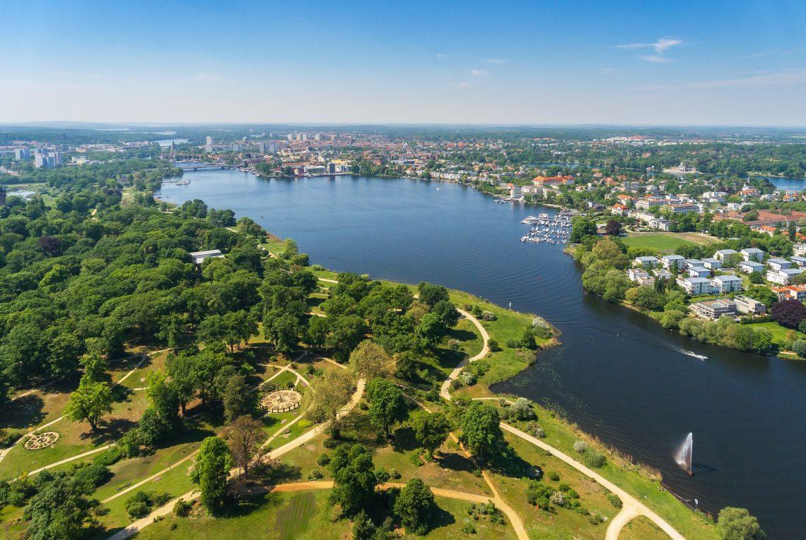 Potsdam and its surroundings. The historic center of Potsdam, Brandenburg, Germany shutterstock_757563016