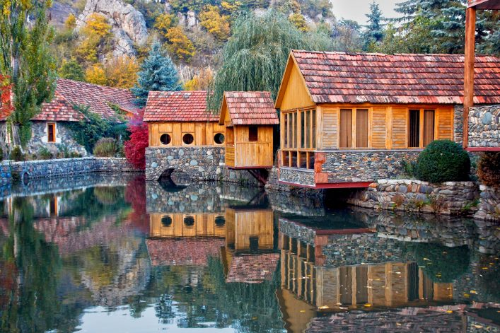 Tourist town of Dilijan.Armenia shutterstock_742588690