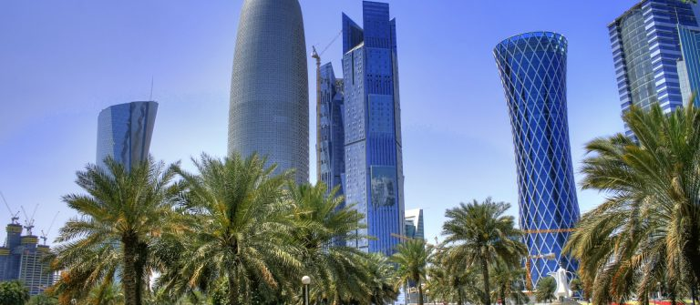 corniche doha katar qatar shutterstock_149783309