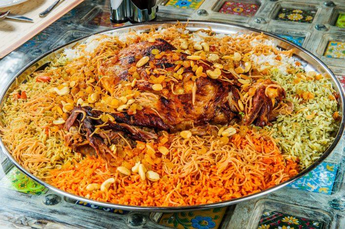 Machbous ist ein typisches Essen im arabischen Raum