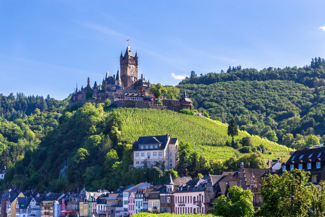 Reichsburg Cochem in Rheinland-Pfalz