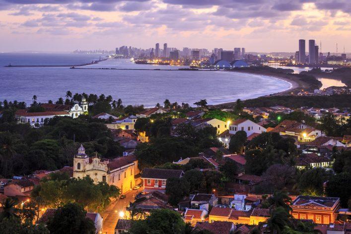 Ausblick bis nach Recife