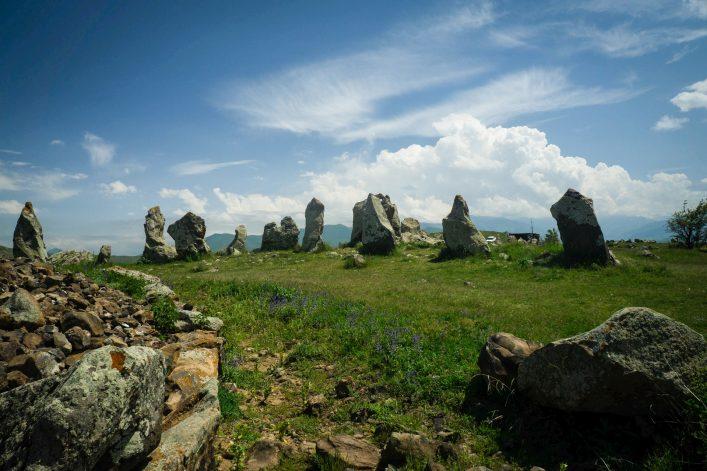 Zorats Karer, das Stonehenge von Armenien.
