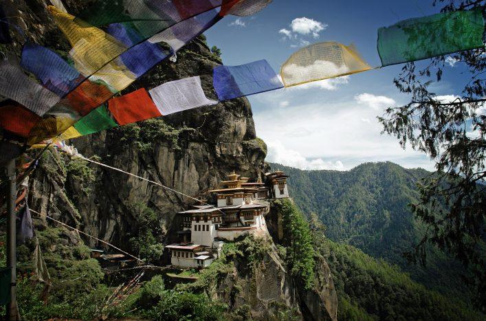 Tiger's Nest (Taktshang) Monastery in Bhutan
