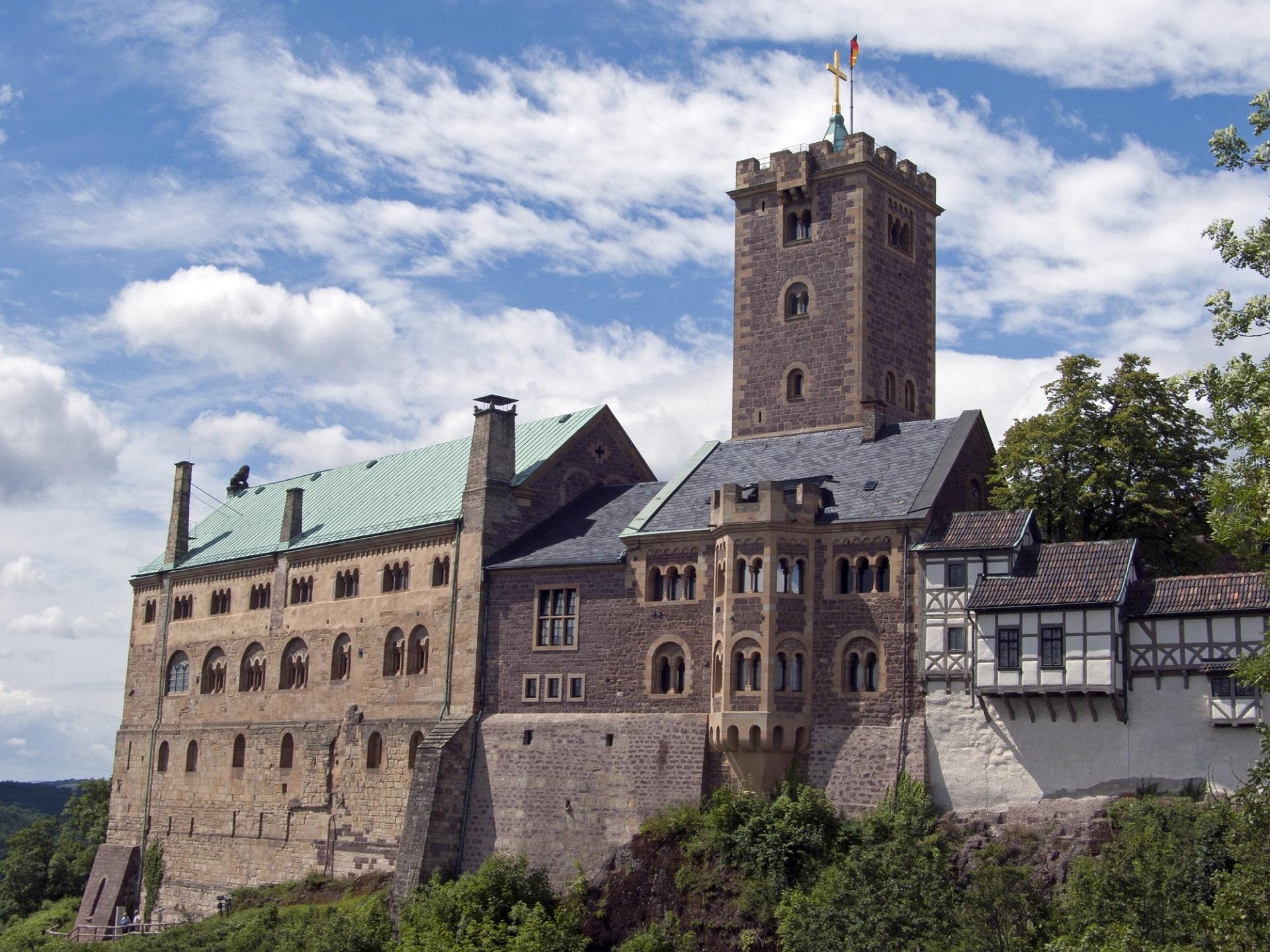 Die Wartburg bei Eisenach gehört zu den schönsten Burgen in Deutschland