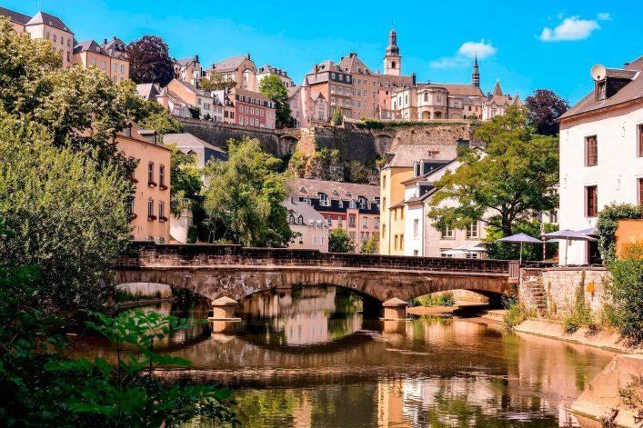 Das idyllische Tal an der Alzette in Luxemburg