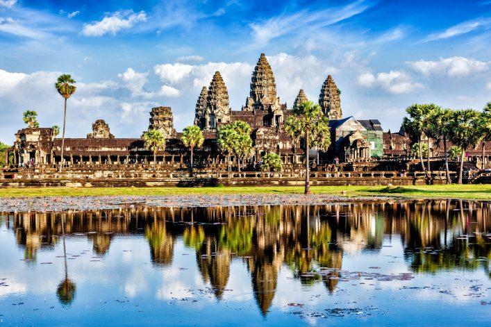 Angkor Wat in Kambodscha.