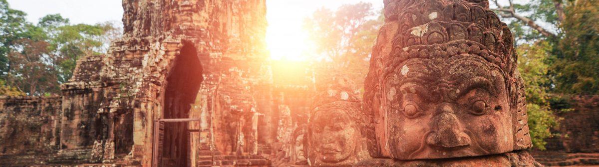 Angkor Wat in Kambodscha
