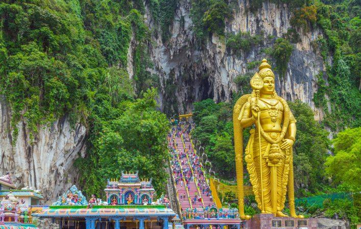 Batu Caves Tempel in Kuala Lumpur