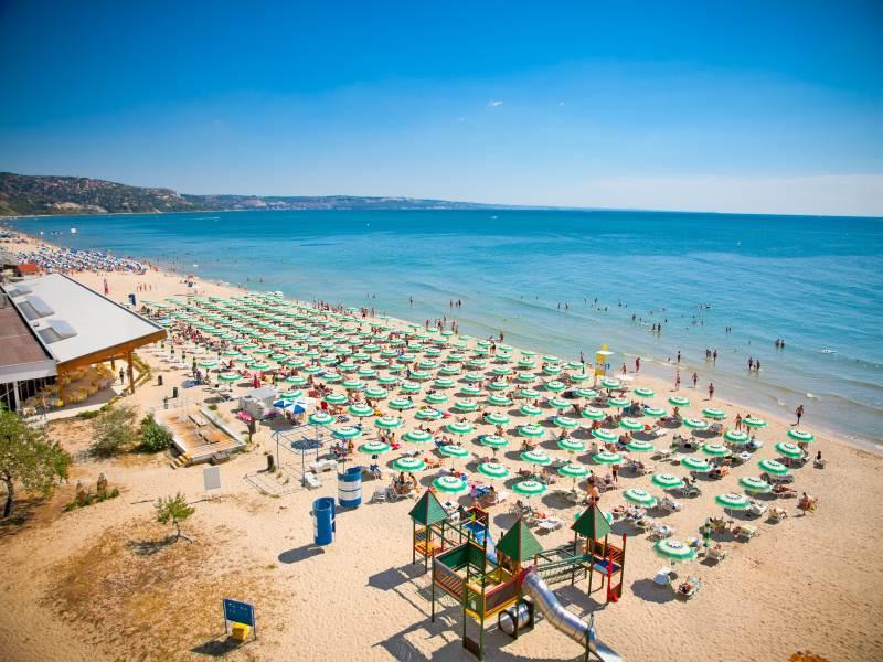 Sonnenstrand in Bulgarien
