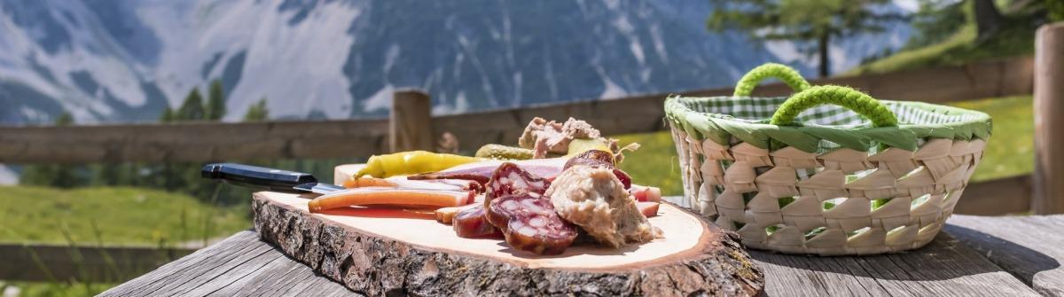 Brettljause Kulinarisches Österreich
