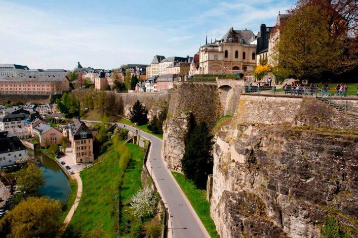Die Casemates du Bock in Luxemburg