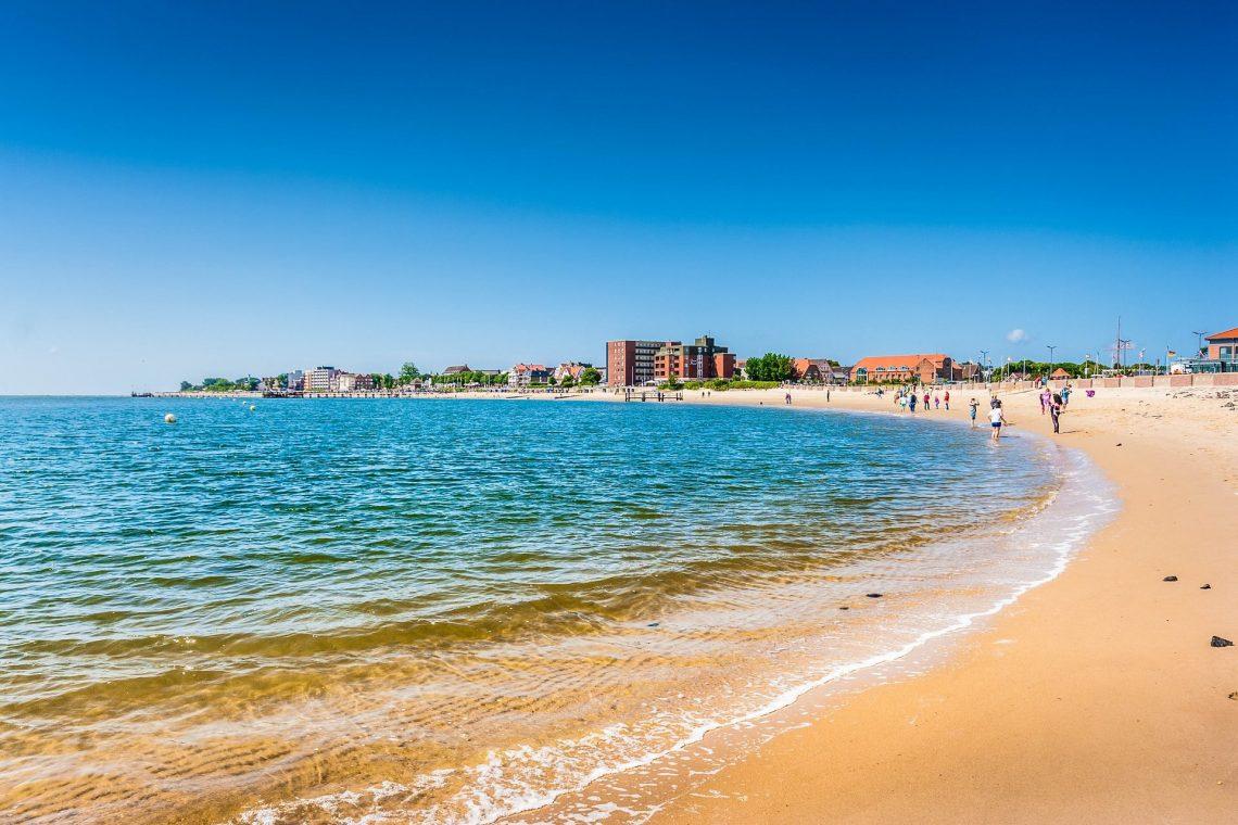 Strand der Nordseeinsel Föhr