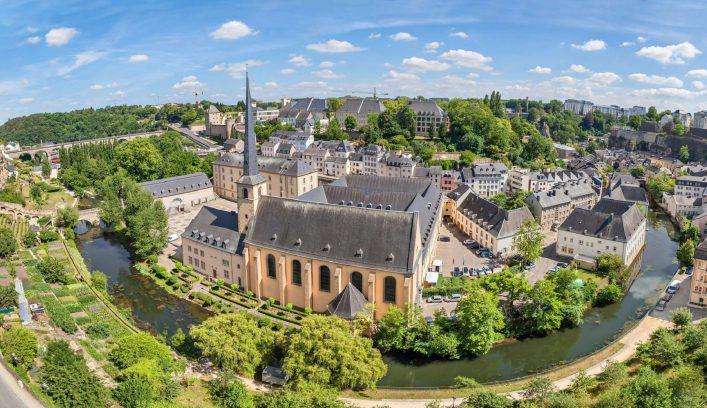 Luxemburg von oben iStock-515012162
