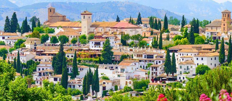Landschaft in Spanien
