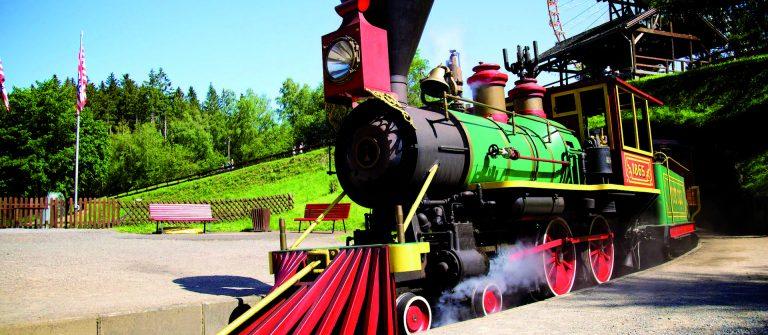 Ansicht der Lok Santa Fe Express