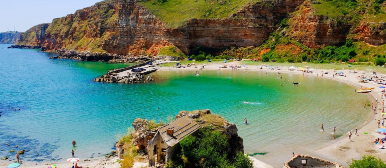 Bolata Strand in Bulgarien