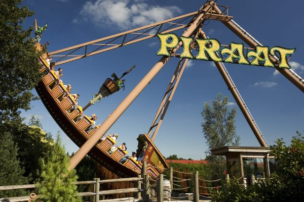 The Pirate in Aktion im Slagharen Freizeitpark