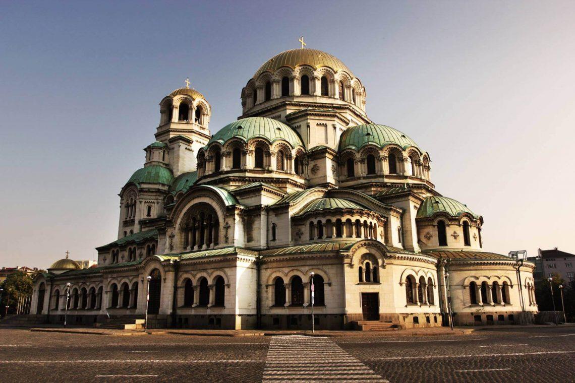Alexander Nevski Kathedrale in Sofia in Bulgarien