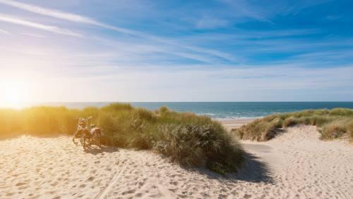 Beach in Zeeland, Domburg shutterstock_602562500
