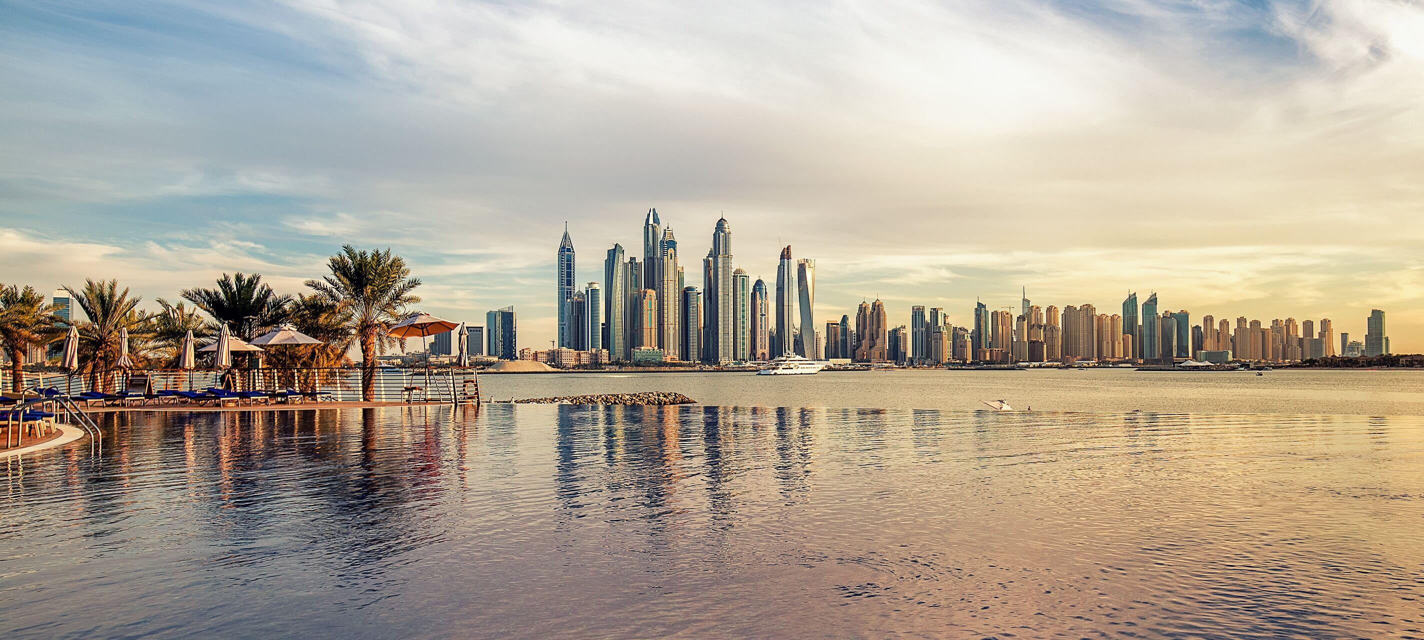 Pauschalreise mit Buchungsstrecke zum Beispiel nach Dubai