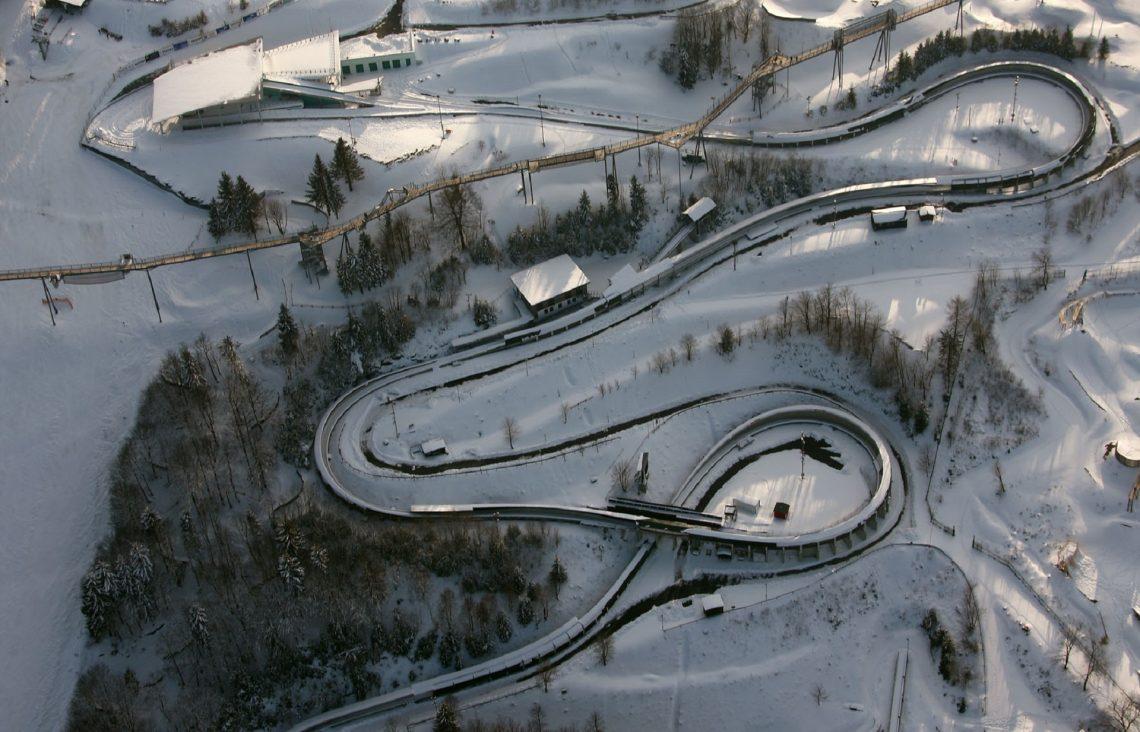 Luftbild Bobbahn Sauerland