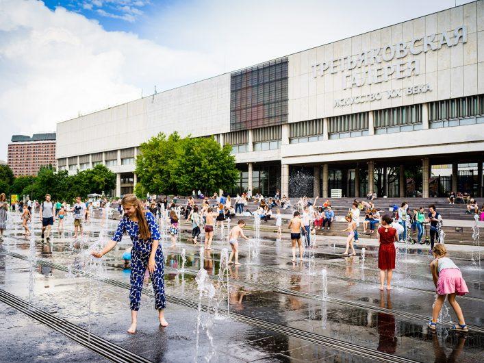 Die Tretjakow-Galerie ist eines der bedeutendsten Kunstmuseen der Stadt und somit eine der wichtigsten Moskau Sehenswürdigkeiten