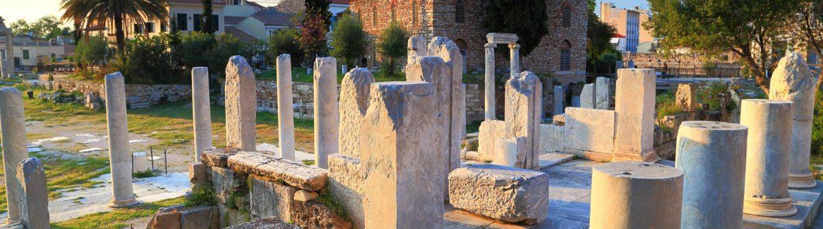 Ruinen der Athener Agora