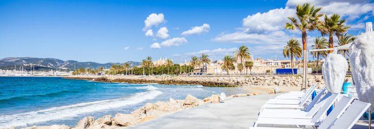 Beach and Promenade of Playa de Palma