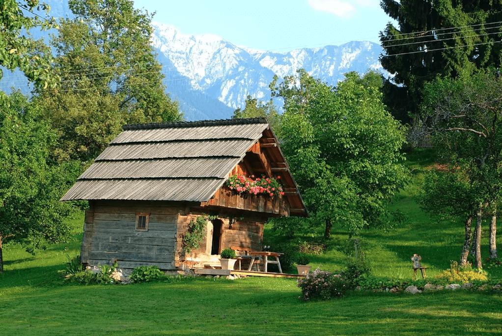 Die Ferienwohnungen in Österreich sind besonders auf dem Land sehr schön