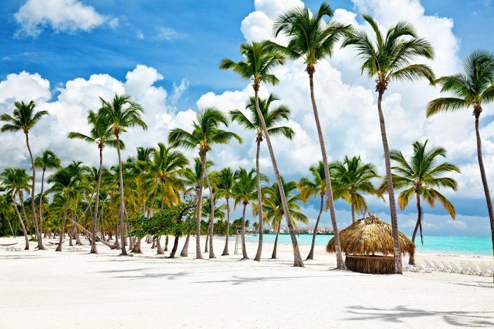 Wunderschöner Strand in der Dominikanischen Republik