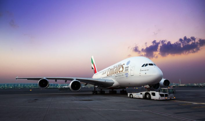 Emirates Airbus A380 Dual Class Configuration