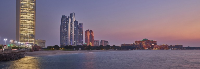 Abu Dhabi Skyline JPEG