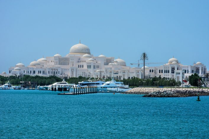 Abu Dhabi, Präsidentenpalast