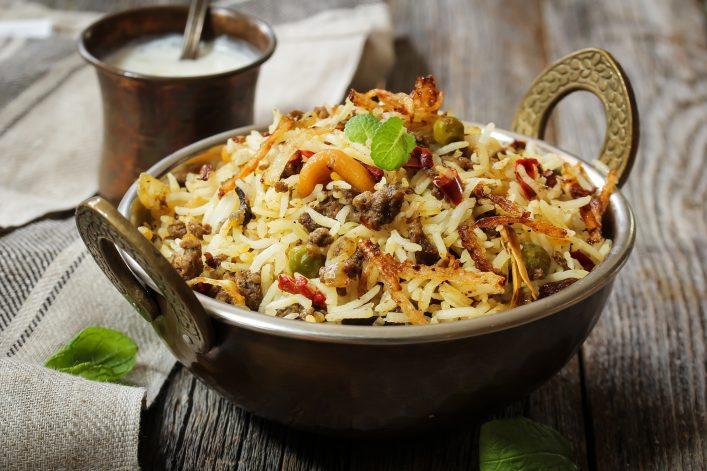 Abu Dhabi Food Guide, Reis