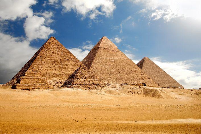 Familienurlaub in El Gouna Pyramiden