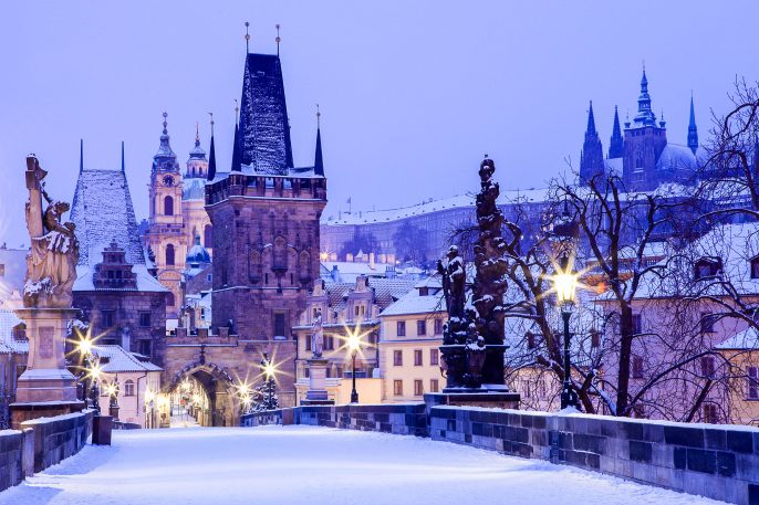 Czech Republic, Pague, Charles Bridge