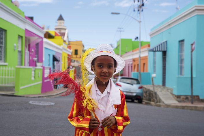 Das Viertel Bo-Kaap ist an Farbenvielfalt kaum zu übertreffen