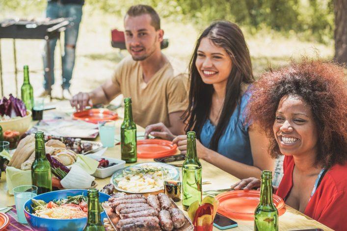 Braai ist ein gesellschaftliches Event in Südafrika