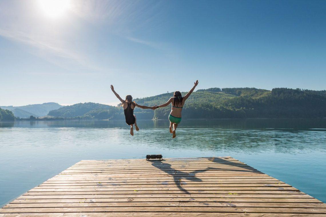 Die Seen im Sauerland sind sehr idyllisch