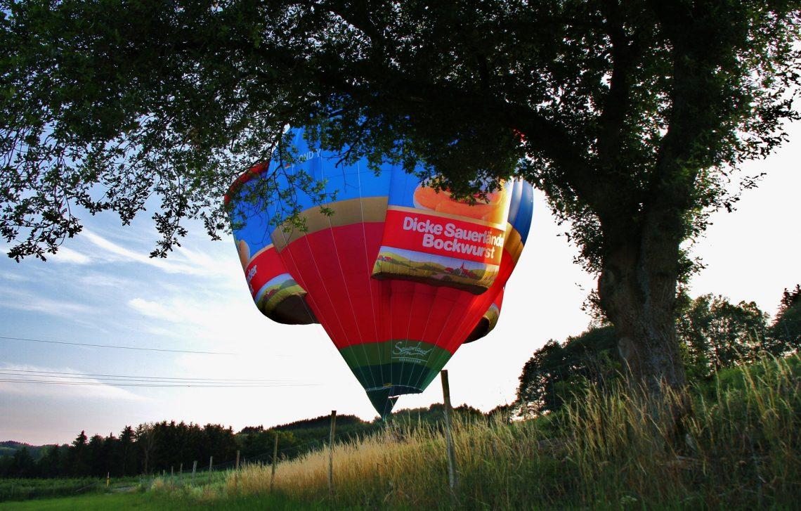 Heißluftballon Metten