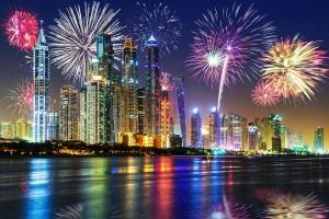Silvester im Warmen in Dubai