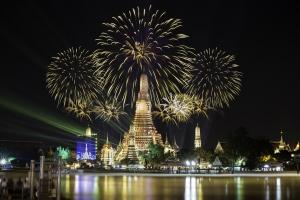 Silvester im Warmen in Bangkok