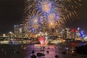 Silvester im Warmen in Sydney
