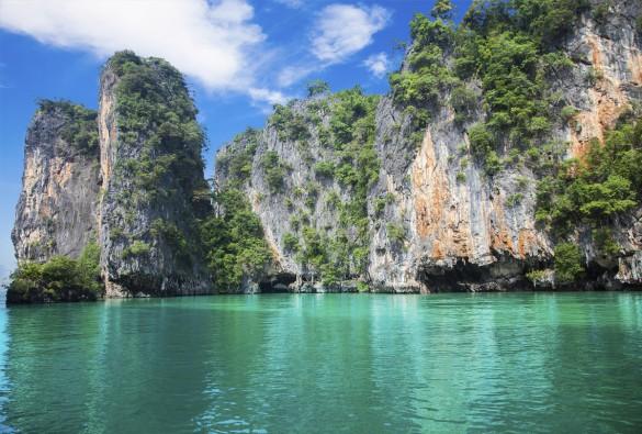 Se The Beach stranden i Thailand på Ko Phi Phi