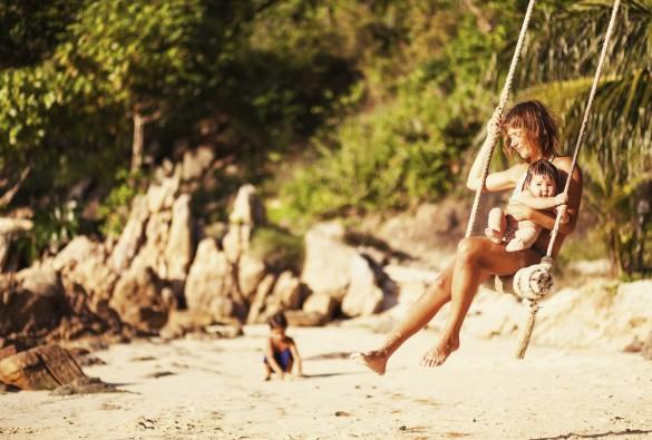 Thailands øer er perfekt til familier med små børn