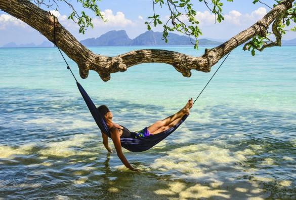 Slap helt af på denne ø i Thailand