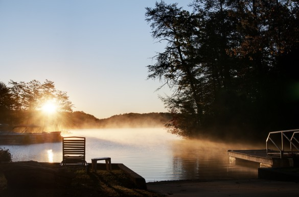 Sun Rising Over Lake Lure, North Carolina shutterstock_99311216_1920