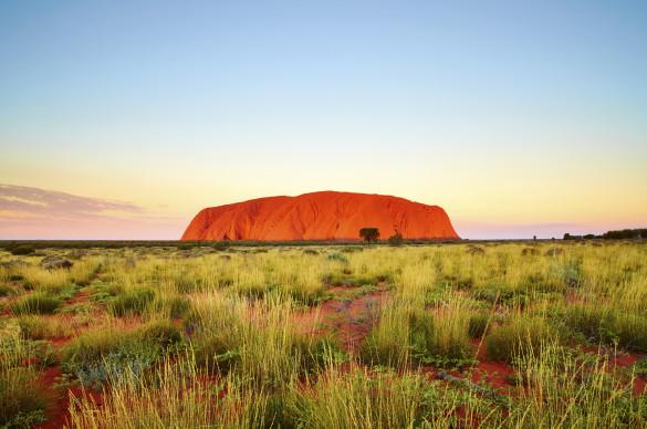 Uluru Dusk Northern Territory Australia iStock_000035030456_Large EDITORIAL ONLY